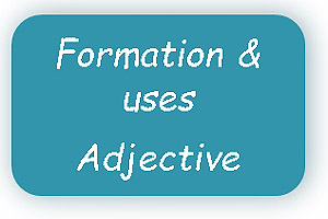Formation of adjective & uses of Adjective