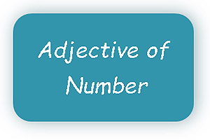 adjective of Number