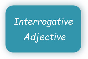 Interrogative Adjective